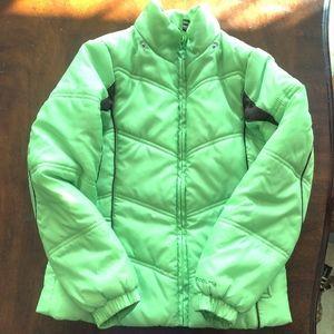 London Fog puffer/ski snow jacket sz  S 7-8 girls
